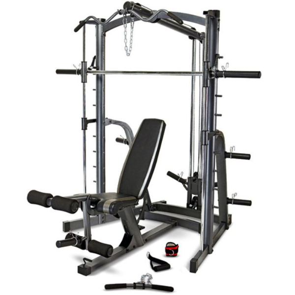 Marcy Mwb1282 Home Gym Smith Machine Weight Bench