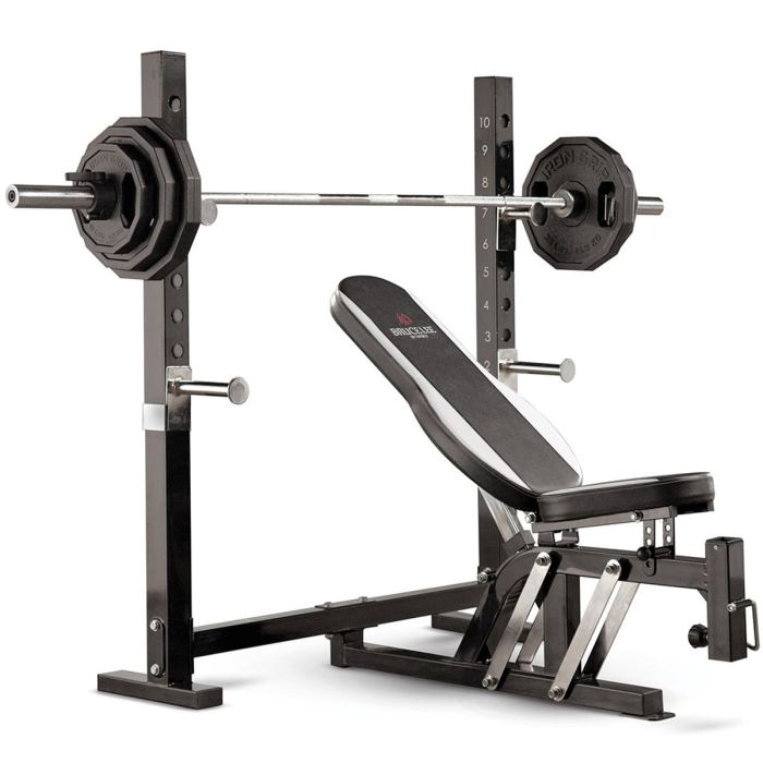 Marcy Bruce Lee Dragon Olympic Weight Bench
