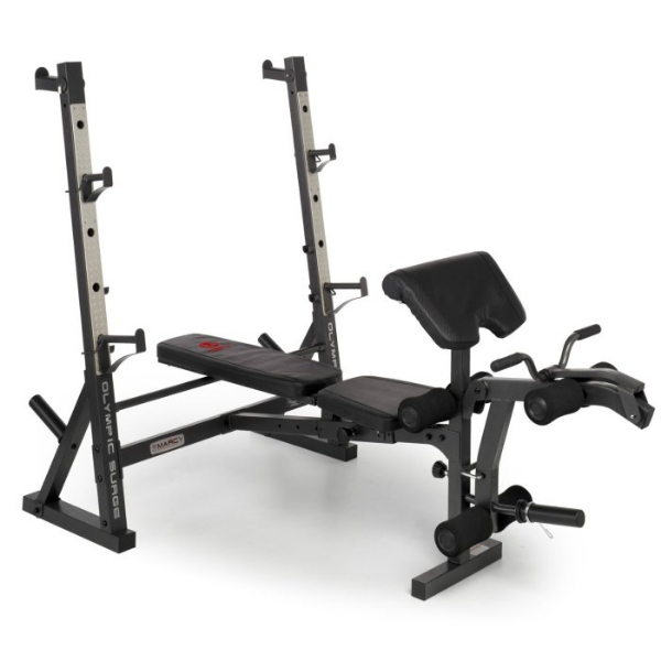 Marcy Diamond Elite Olympic Bench With 140kg Olympic Weight Set