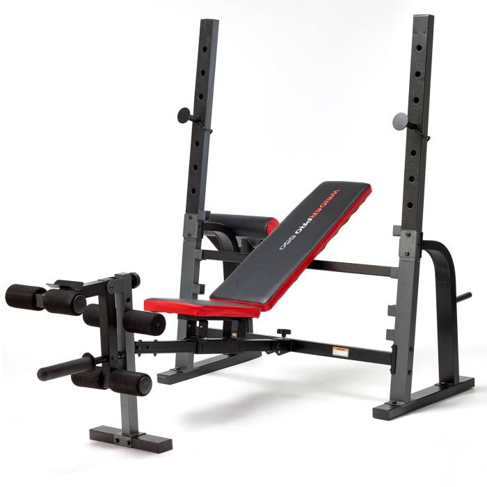 Weider Pro 550 Foldable Weight Bench Review