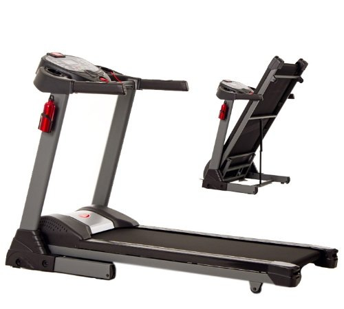 JTX Sprint5 foldable motorised treadmill