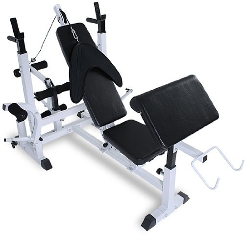 Physionics HNTLB05 Multifunctional Weight Bench Fitness Station