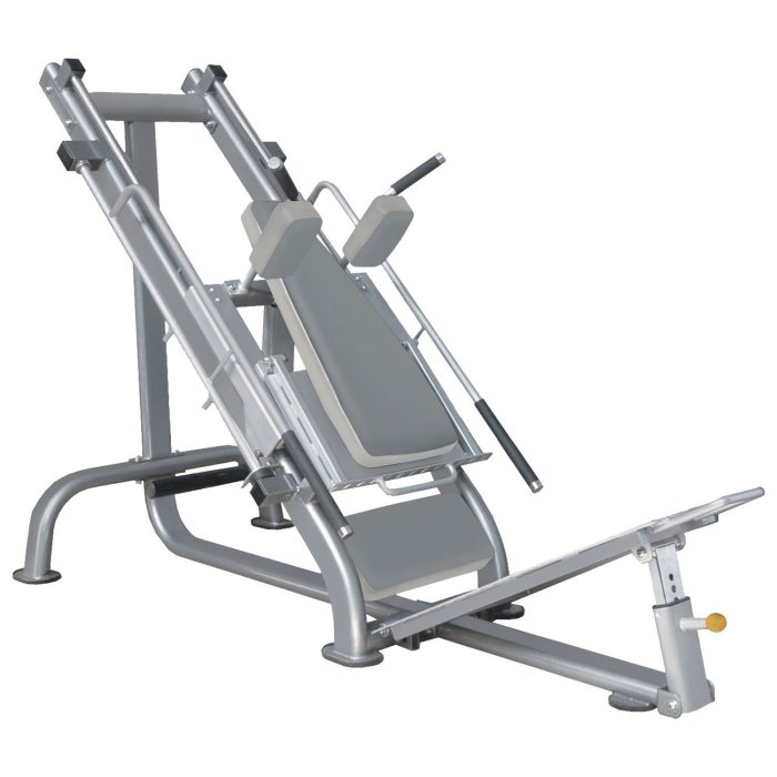 Bodymax Zenith Olympic Plate Loaded Hack Squat and Leg Press