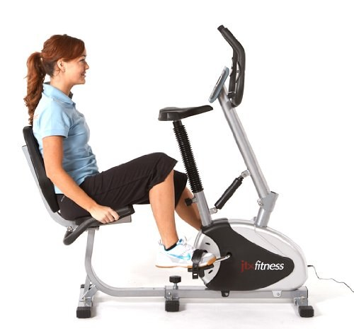 The recumbent position allows for variation in your workouts and more fully developed muscle groups