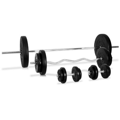 Klarfit Free Weights Set 75kg