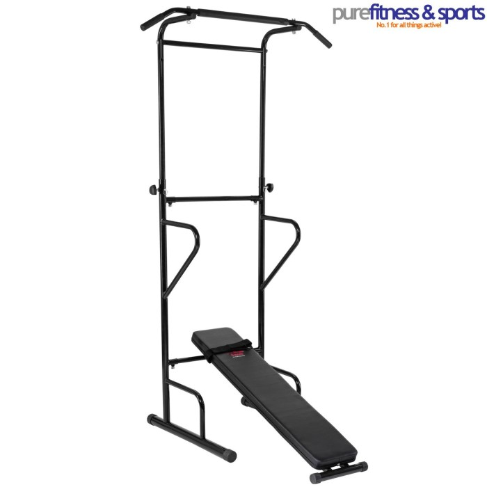 Pure Fitness and Sports Pull Up and Dip Station