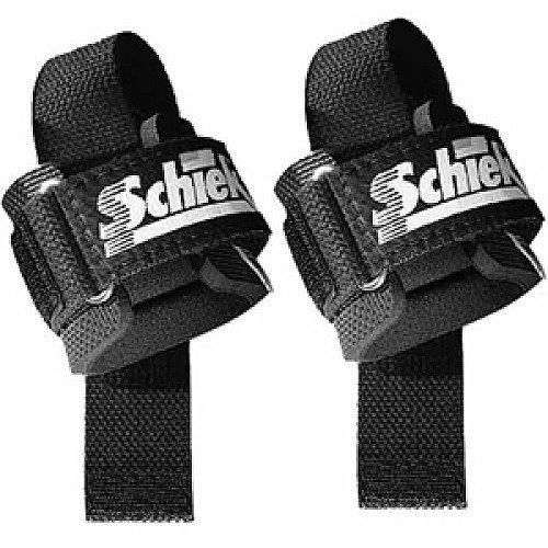 Thick wrist padding makes the Schiek lifting straps an attractive option