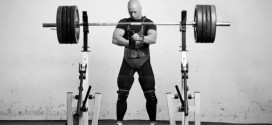 Always focus when setting up to squat