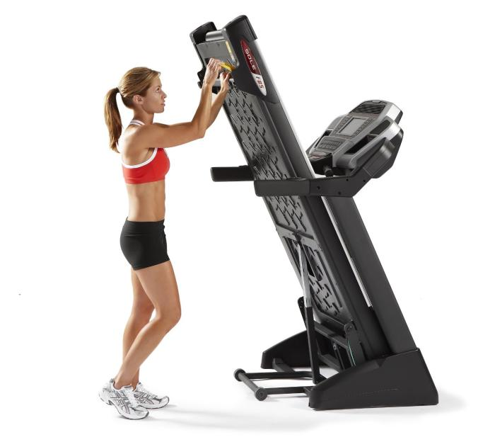 There are many folding treadmill designs available that will help to store it away when not in use