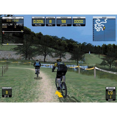 Trixter X Dream Interactive Exercise Bike