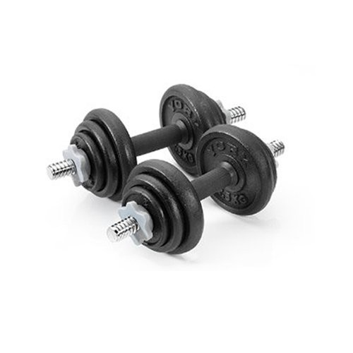 York 20kg Cast Iron Dumbbell Set Review