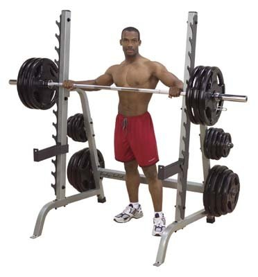 Body Solid Commercial Squat Rack