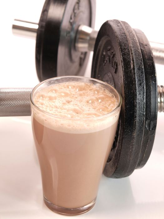 Try to make sure you get some quick release protein such as a whey protein shake within 30 minutes of exercise