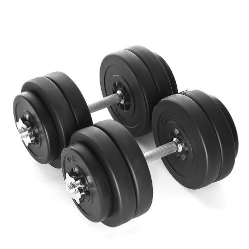 Vinyl Dumbbell Set 30Kg – Gorilla Sports