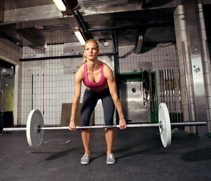 Correct foot positioning plays an important part in the deadlift