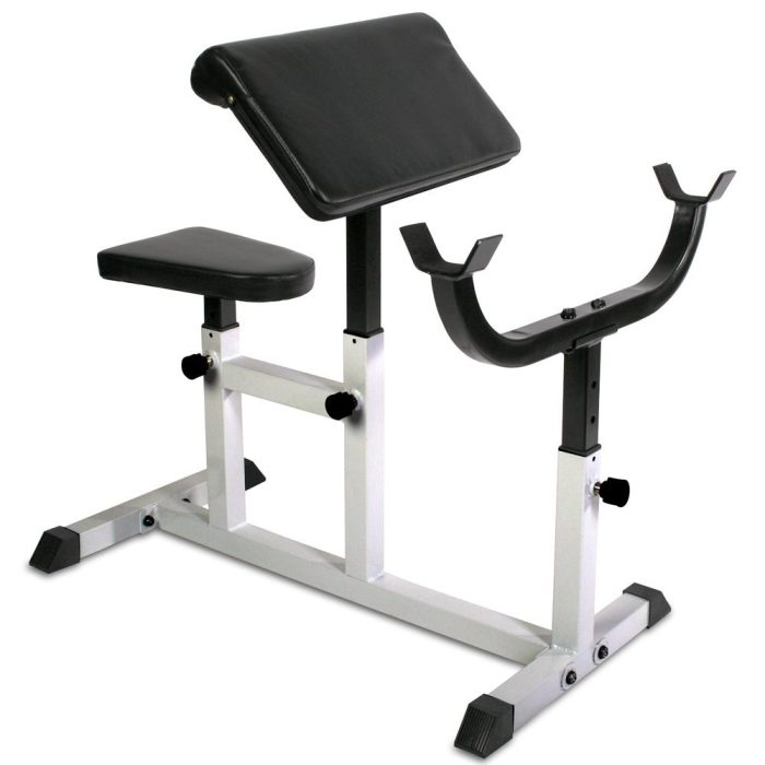 Buy the Physionics HNTLB09 Arm Curl Preacher Bench