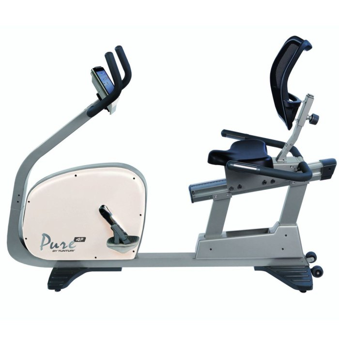 Tunturi Pure R 4.0 Recumbent Exercise Bike