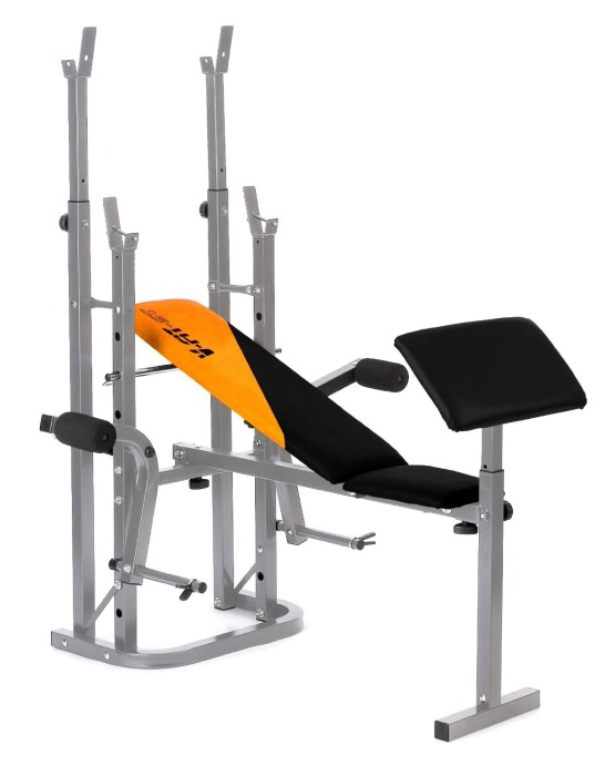 V-fit STB-09-4 Herculean Folding Weights Bench