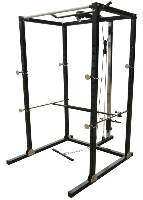 Gym Master Home Gym Power Rack Workout Cage