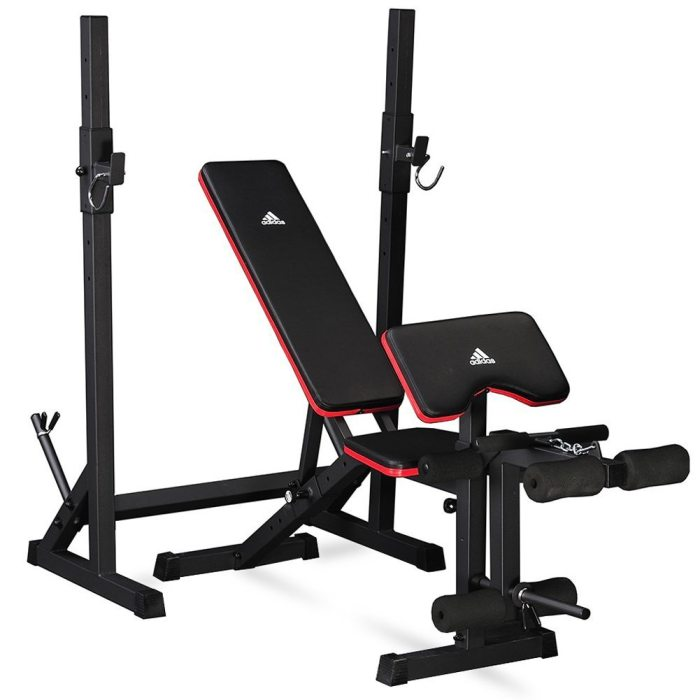 Adidas Essential Workout Bench and Squat Rack