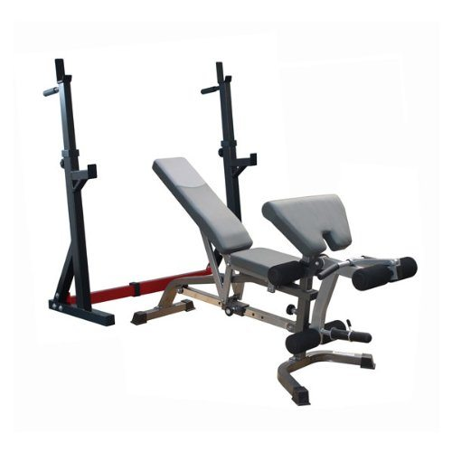Bodymax CF335 Deluxe Bench and Squat Rack