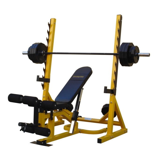 Bodymax Cf516 3 In 1 Bench Leg Curl And Preacher