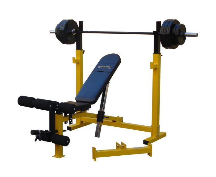 Bodymax CF520 Elite Folding Olympic Bench