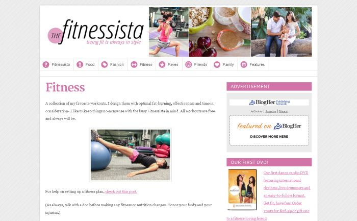 The Fitnessista
