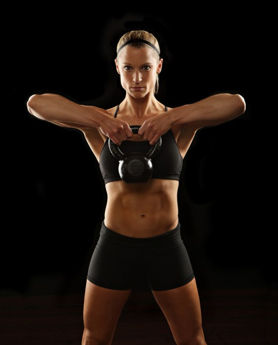 Kettlebells can be an excellent way to also build more strength in your forearms when performing upright rows