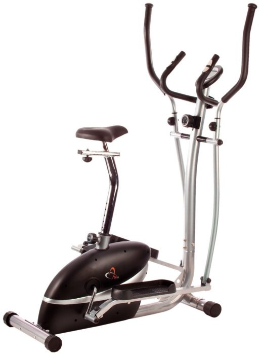 V-fit MCCT1 Magnetic 2-In-1 Cycle Elliptical Trainer