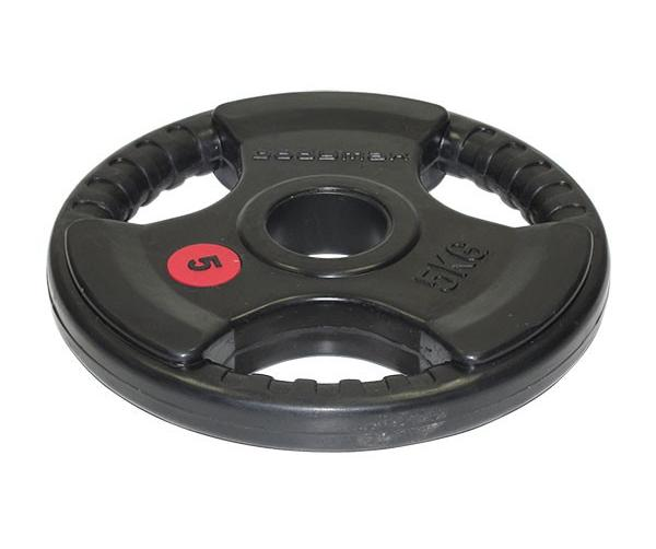 Buy the 5kg Bodymax Olympic Rubber Radial Weight Plates