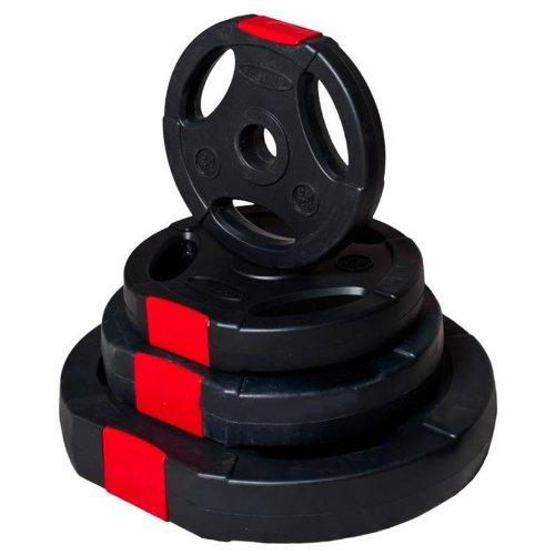 5Kg Vinyl Tri Grip Weight Plates