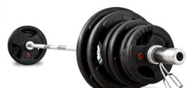 Bodymax 140kg Olympic Rubber Radial Barbell Kit