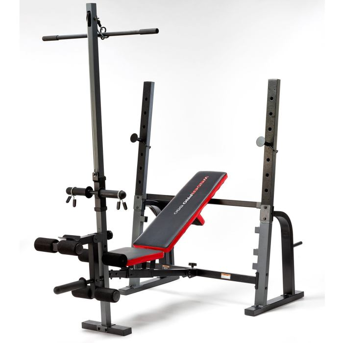 Weider Pro 550 Foldable Weight Bench