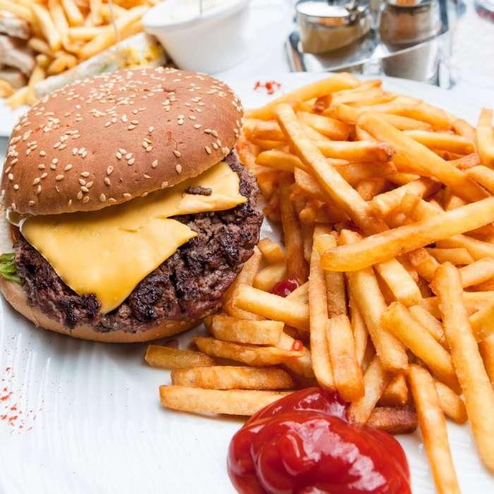 comida americana: