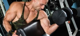 Improve your bicep peak with 90 degree preacher curls
