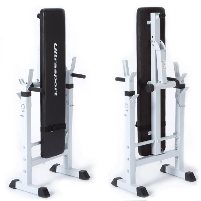 Ultrasport fold up weight bench review Weight bench and weights