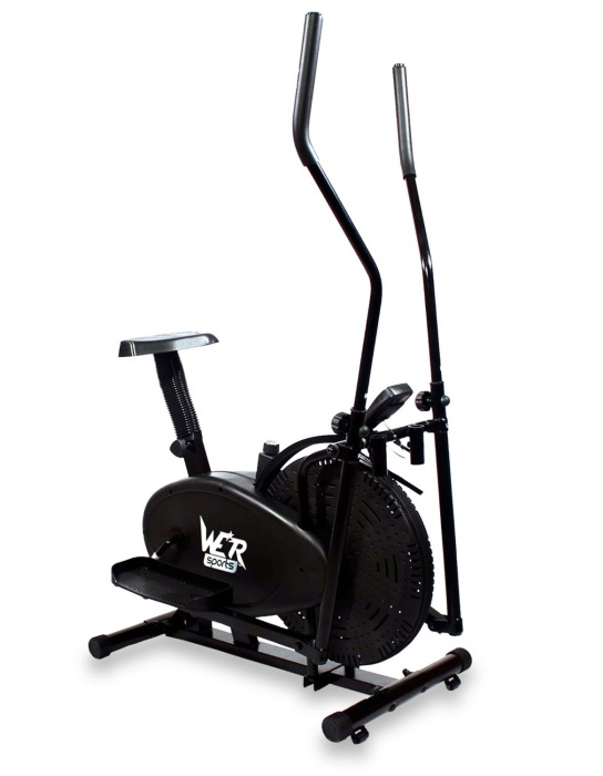 We R Sports 2-in-1 Elliptical Cross Trainer and Exercise Bike