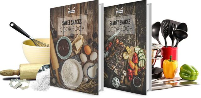 Paleo snacks recipe books
