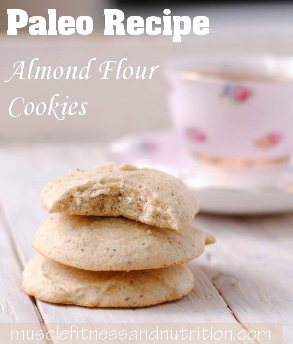 Paleo Almond Flour Cookies Recipe
