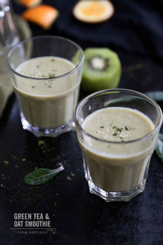 Green Tea and Oat Smoothie by Cook Republic