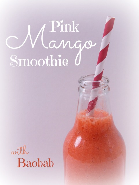 Pink Mango Smoothie by Tinned Tomatoes