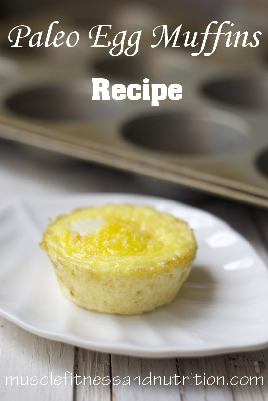 Paleo Egg Muffins Recipe