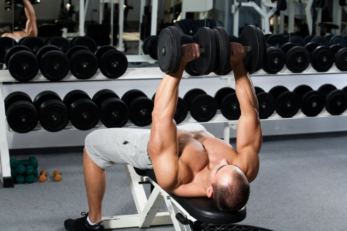 Pairing muscles like chest and back together can lead to some impressive strength and size gains