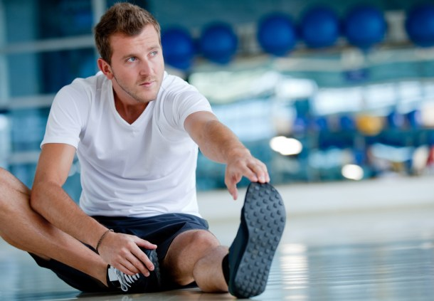 One of the most common gym mistakes to make is not taking the time to stretch before a workout