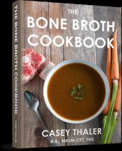 Bone broth recipe book