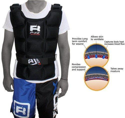 Authentic RDX Weighted Training Vest