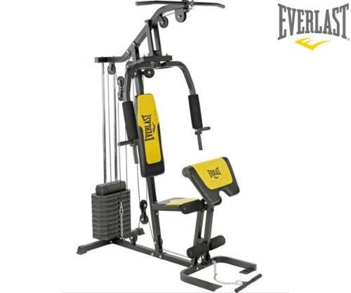 Everlast EV800 Home Gym with Preacher Pad Review