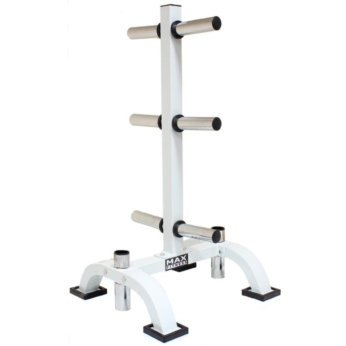 Max Fitness Olympic Weight Plate Stand