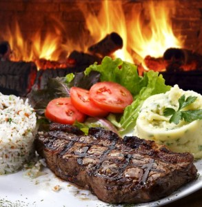 Steak is a natural food source high in protein